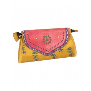 Rakhiyo Mushru Small Flap Clutch RAK43