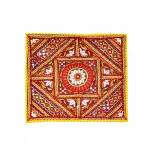 Kutch Qasab Paka Work Pillow Cover KQ49