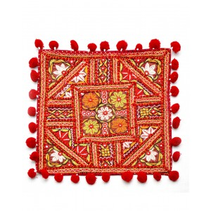 Kutch Qasab Paka Work Cushion Cover KQ58