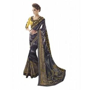 Nayonika Black Designer Saree 230