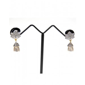 Ishi Collection Metallic Brass Earring IC09