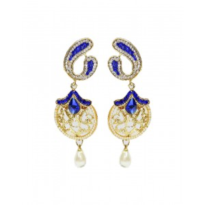 Ishi Collection Metallic Brass Earring IC112