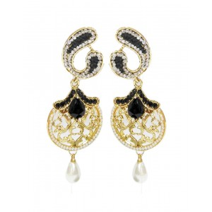Ishi Collection Metallic Brass Earring IC113