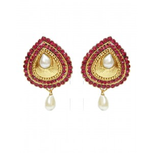 Ishi Collection Metallic Brass Earring IC114