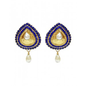 Ishi Collection Metallic Brass Earring IC115