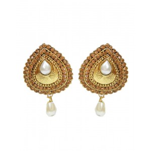Ishi Collection Metallic Brass Earring IC116