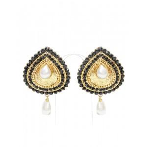 Ishi Collection Metallic Brass Earring IC117