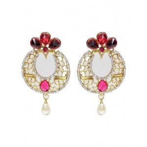 Ishi Collection Metallic Brass Earring IC119
