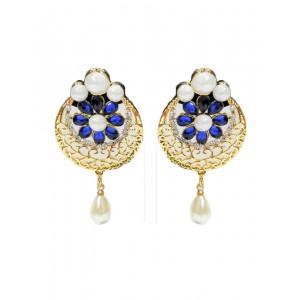 Ishi Collection Metallic Brass Earring IC127