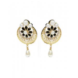 Ishi Collection Metallic Brass Earring IC129