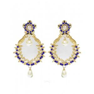 Ishi Collection Metallic Brass Earring IC132