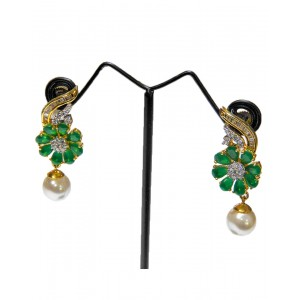 Ishi Collection Metallic Brass Earring IC14