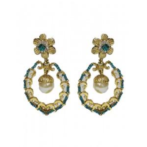 Ishi Collection Metallic Brass Earring IC141