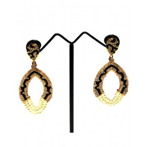 Ishi Collection Metallic Brass Earring IC16