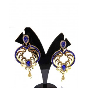 Ishi Collection Metallic Brass Earring IC21