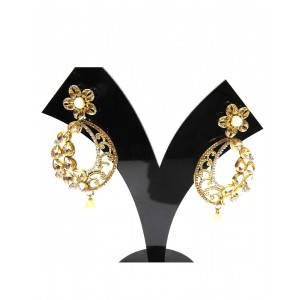 Ishi Collection Metallic Brass Earring IC30