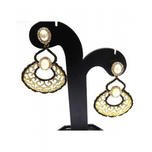 Ishi Collection Metallic Brass Earring IC31