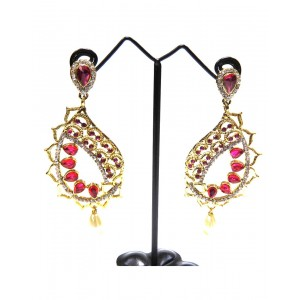 Ishi Collection Metallic Brass Earring IC36