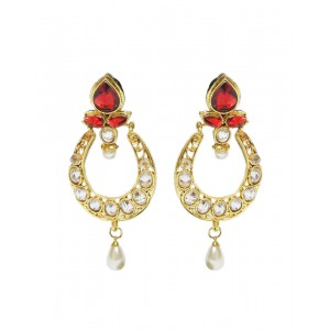 Ishi Collection Metallic Brass Earring IC74
