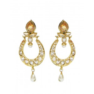 Ishi Collection Metallic Brass Earring IC75
