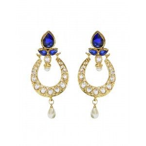 Ishi Collection Metallic Brass Earring IC76