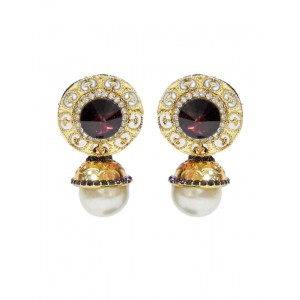 Ishi Collection Metallic Brass Earring IC80