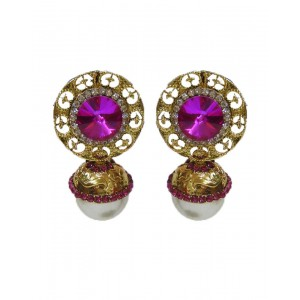 Ishi Collection Metallic Brass Earring IC82