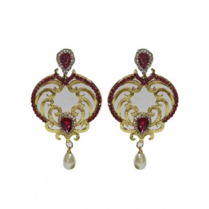 Ishi Collection Metallic Brass Earring IC84