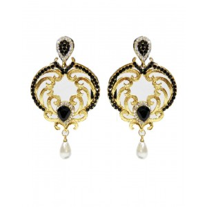 Ishi Collection Metallic Brass Earring IC85