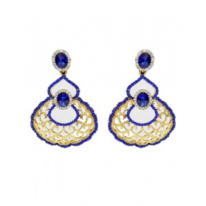 Ishi Collection Metallic Brass Earring IC87