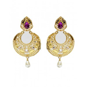 Ishi Collection Metallic Brass Earring IC90
