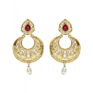 Ishi Collection Metallic Brass Earring IC91