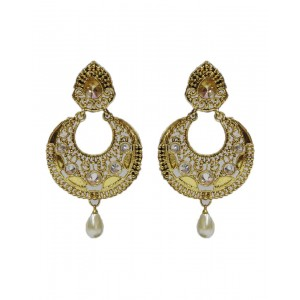 Ishi Collection Metallic Brass Earring IC92