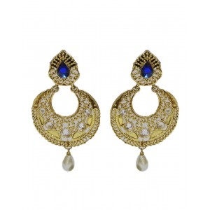 Ishi Collection Metallic Brass Earring IC93