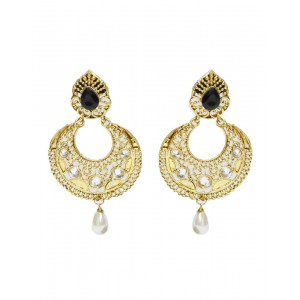 Ishi Collection Metallic Brass Earring IC95