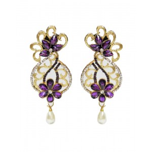Ishi Collection Metallic Brass Earring IC96