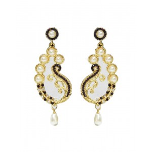 Ishi Collection Metallic Brass Earring IC97