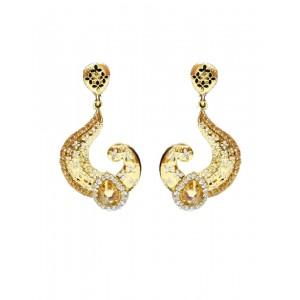 Ishi Collection Metallic Brass Earring IC98