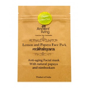 Ancient Living Lemon And Papaya Face Pack AL58