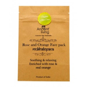 Ancient Living Rose And Orange Face Pack AL59