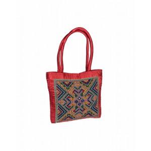 Rakhiyo Cotton Satin Jat Work Bag RAK42