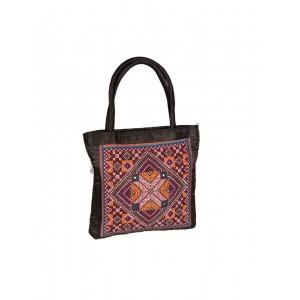 Rakhiyo Cotton Satin Jat Work Bag RAK43