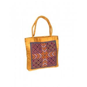 Rakhiyo Cotton Satin Jat Work Bag RAK44