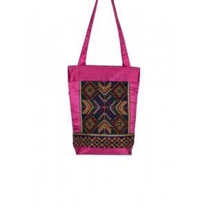 Rakhiyo Cotton Satin Jat Work Bag RAK45