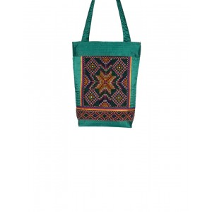 Rakhiyo Cotton Satin Jat Work Bag RAK46