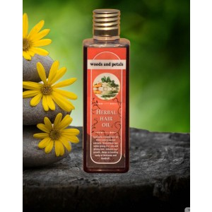 Woods And Petals Herbal Hair Oil WP54