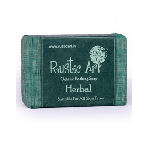 Rustic Art Organic Herbal Soap RA02 (Pack of 2)