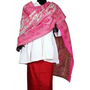 Pink Himroo Shawl HS23