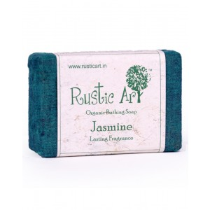 Rustic Art Organic Jasmine Soap RA05 (Pack of 2)
