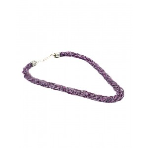 Purple Small Beads Necklace AK21